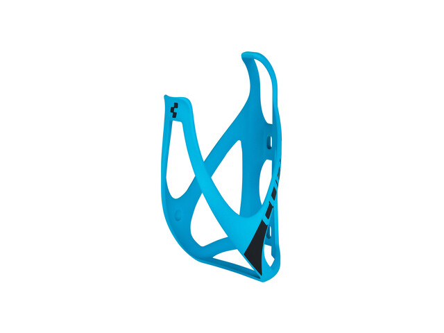 Cube HPP Flaschenhalter matt blau/schwarz